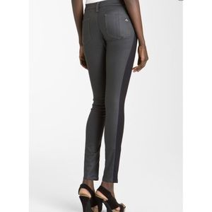 Rag & Bone Split Skinny Jeans in Midnight Shrdtch